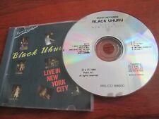 Black Uhuru ‎- Live In New York City [CD 1988]  EX C VERY RARE ROOTS REGGAE