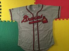 Kenny Lofton Atlanta Braves Russell Athletics Sewn Baseball Jersey Men's Size L