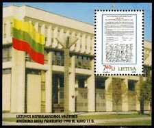 Litauen Block 18 ** 10 Jahre Unabhängigkeit (3586)