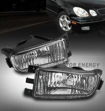 98-05 LEXUS GS300 GS400 GS430 BUMPER FOG LIGHTS LAMPS CHROME LEFT+RIGHT PAIR SET