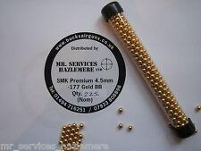 STICK OF SMK 177 BB STEEL BB's PELLETS AIR RIFLE PISTOL 4.5mm - x 225 APPROX