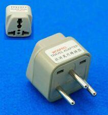 Australia UK USA EURO to Israel Round  Pins New Travel AC Power Plug Adaptor