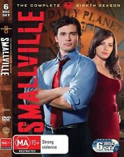 Smallville: Season 8 (DVD, 6-Disc Set) Region 4 - Good Condition