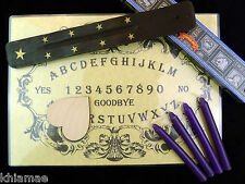 SÉANCE & SPIRIT COMMUNICATION KIT ouija board contact dead occult gothic gift