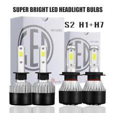 H1+H7 LED Headlight Bulb Hi/Lo Kit 1320W 6500K Turbo for Hyundai Sonata Elantra
