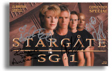 AVATAR STARGATE SG1 'CONVENTION SPECIAL' COMIC BOOK - FULL CAST SIGNED!