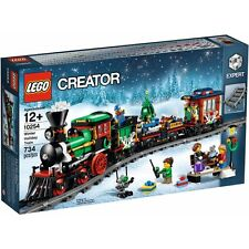 Lego New Genuine Creator [Expert] Set - Christmas Winter Holiday Train (10254)