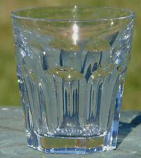 Baccarat - Verre à whisky en cristal taillé, modèle Harcourt