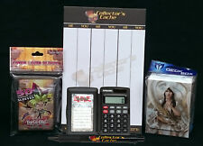 YGO Yu-Gi-Oh! Tournament Accessory Supply Set AND Duelist Calculator SUPER COOL!