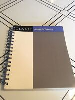 Apple IIe IIc IIGS II+ Claris AppleWorks Reference manual Mac Macintosh Vintage