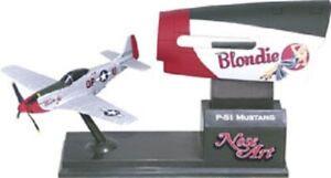 Corgi Nose Art P-51 Mustang - Blondie  Airplane NEW CS90425 Retired