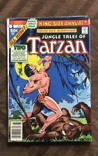 Jungle Tales of Tarzan Issues  #1 2 & 3 Marvel 1977  Edgar Rice Burroughs