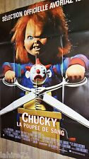 JEU D'ENFANT child's play 2 chucky 2 la poupee de sang ! affiche cinema horreur
