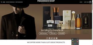 PERFUME SHOP - Website Business For Sale Free SSL + Free Hosting + SETUP