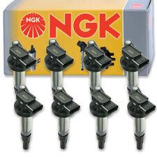 8 pcs NGK Ignition Coil for 2006-2009 Land Rover Range Rover 4.2L 4.4L V8 - wk