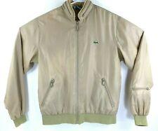 Vintage Izod Lacoste Full Zip Bomber Jacket Windbreaker Men Sz M