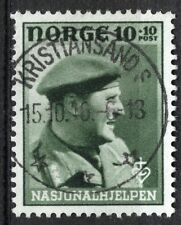 Norway 1946, NK 345 Son Superb Kristiansand S 15.10.46 (VA)