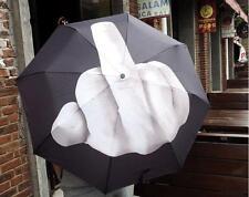 novità In vita Dito Design Ombrello Up Yours ombrello Sarcasm Bumbershoot NUOVO
