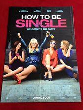 How to be a Single Kinoplakat Poster A1, Dakota Johnson, Rebel Wilson