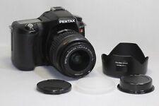 Pentax ist DL 6.1 MP Digital SLR Camera - Black (Kit w/ DA AL 18-55mm Lens)