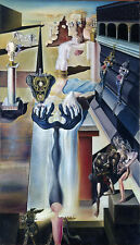 Salvador Dali The Invisible Man reproduction giclee 8X12 canvas print poster