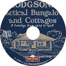 Hodgson House Plans Collection {23 Blueprint Design Catalogs} on DVD