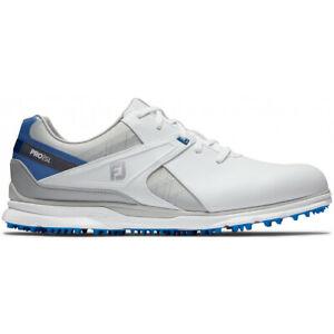NEW Men's FootJoy Pro/SL Golf Shoes 53811 White / Blue / Grey Sz 13 M