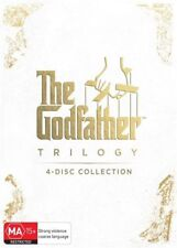 NEW & SEALED Godfather Trilogy: The Godfather/ Part 2/ Part 3 DVD 1-3 Region 4