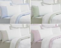 Duvet Cover Bedding Set Cambridge Border Stripe  100% Egyptian Cotton TC 200