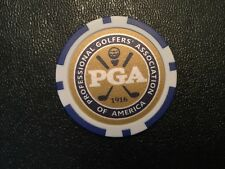 US PGA Azul POKER CHIP GOLF BALL MARKER nuevo USPGA