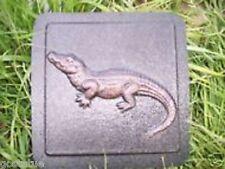 Gostatue mould  alligator accent  tile abs plastic mold