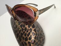 GUESS Women's Sunglasses 100% UV Protection Brown GUF214 New
