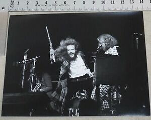 Jethro Tull 11x14 Concert Photo from Original Negative 1972 Chicago Thick Brick