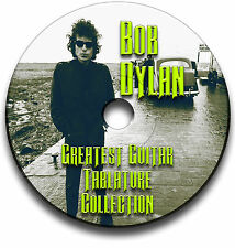 BOB DYLAN FOLK ROCK GUITAR TAB TABLATURE SONG BOOK SOFTWARE CD