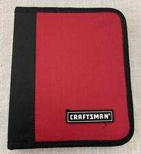 Craftsman Nut Driver MM/SAE empty CASE ( No Tools ) New, Canvas, Zipper