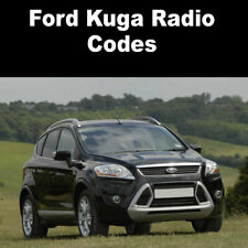 Ford Kuga Radio Code Stereo Codes Pin Car Unlock Fast Service 6000cd