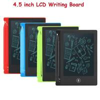 """4.5"""" LCD Writing Tablet e-Writer Drawing Memo Message  Board for Kids NEW"""