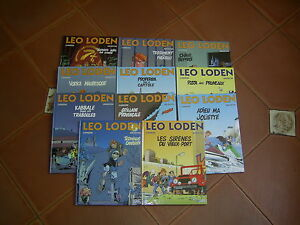 LEO LODEN TOME 1.2.3.4.5.6.7.8.9.10.11   EDITIONS SOLEIL