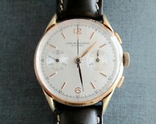 Chronographe Suisse Vintage Mechanical Hand Winding Men's Watch Landeron Caliber