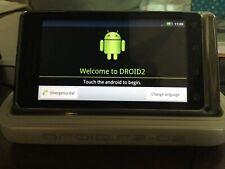 Motorola Verizon Droid 2 Model XT907 Slider Cell Phone Star Wars R2-D2 Android
