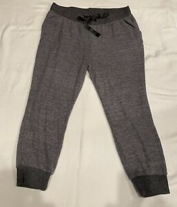 Torrid Super Soft Sleep Pants Dark Gray Fleece Plus Size 2 (18/20, 2X) Pockets