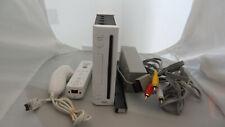 Nintendo Wii White Console (NTSC) 1 Controllers 1 Nunchucks Bundle