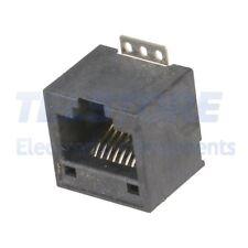 2pcs MX-95501-2441 Presa RJ9 PIN 4 Cat 3 a profilo basso Sist.usc 4p4c THT MOLEX