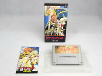 Der Langrisser Super Nintendo SNES Famicom Boxed NTSC J Japan Import Complete