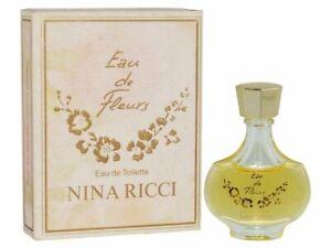 Nina Ricci  Eau De Fluers Vintage Eau De Toilette Miniature 6ml New & Boxed