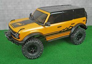 1/10 Traxxas TRX-4 Ford Bronco 2021 RC Crawler Custom Stripe Decal Set
