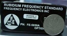 FEI  FE-5650A Option 58 programmable Rubidium Oscillator( change Freq on pc)