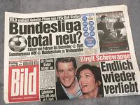 Bildzeitung vom 12.02.1999 * 19. 20. Geburtstag Geschenk * Schrowange und Lanz