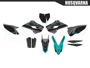 Motard graphic kit for Husqvarna TC FC 125 250 350 450 2014 2015 14 15 MX Decals