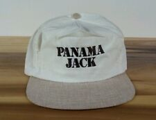 Vintage 80's Panama Jack Hat Cap Fishing Snapback Surf Golf Beach